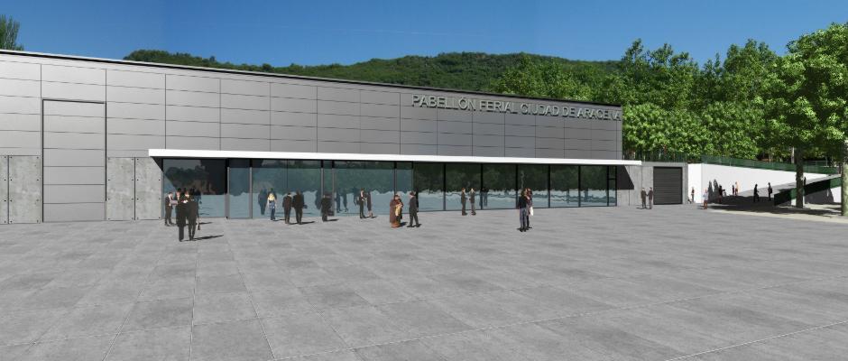 Messepavillon Aracena